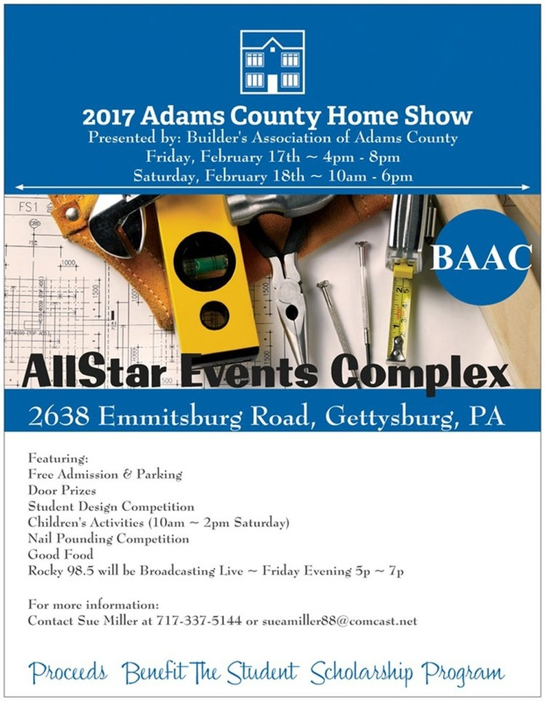 2017 adams county home show, builder's show association of adams county